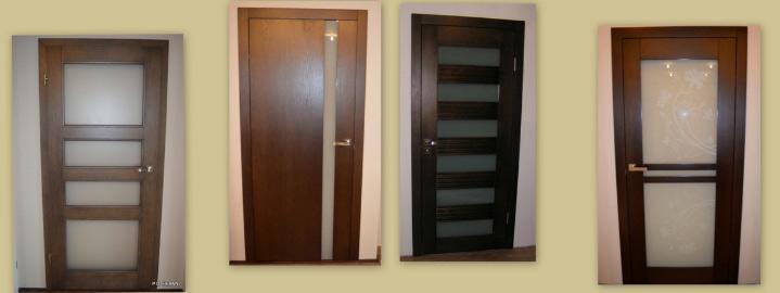 Drzwi drewniane wewnętrzne - wzory drzwi