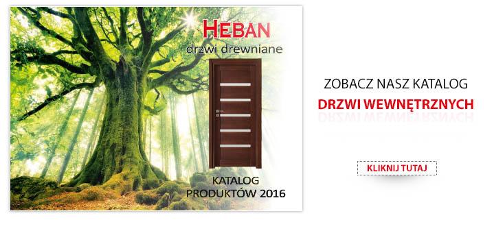 Katalog drzwi Heban